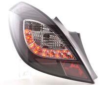 Par De Faros Luces Traseras Tuning LED Opel Corsa D 3 puertas 2006-2010 negro