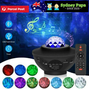 LED Lamp Night Light Galaxy Starry Projector Ocean Star Sky For Party&Kids&Baby