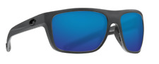 COSTA DEL MAR BROADBILL POLARIZED BRB98 OBMGLP SUNGLASSES GRAY/BLUE 580G GLASS