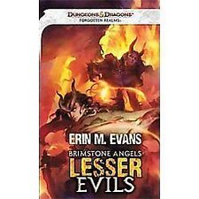 Brimstone Angel: Lesser Evils- A Forgotten Realms Novel PB 2012 NEW E.M. Evans