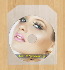 Learn to apply Makeup DVD Professional Training Eye Lipstick Beauty Blusher