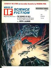 WORLDS OF IF, #84 11/64, rare US sci-fi digest size mag Emsh cover, Thomas Disch