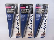 2X Maybelline Master Drama Cream Pencil Eyeliner LIMITED- 200 Stormy Navy
