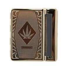 Tobacco Cigerette Rolling Machine, Cannabis Leaf Design, smoker smoking ciggaret