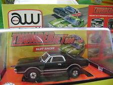 Nos Sold Out Autoworld Thunderjet Rel 3 68 Black Cougar Ho Slot Car Fit Aurora