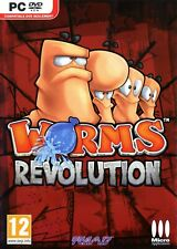 Worms Revolution PC Steam Key GLOBAL Deutsch
