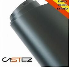 VINILO NEGRO MATE 60 X 152 CM (ENVIO  24/48H) CAR WRAPPING MATTE BLACK VINYL