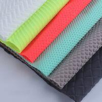 Polyester Net Fabric Honeycomb Mesh Chiffon Knit interligne Vêtements Sacs Supply
