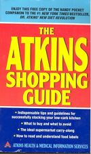 The Atkins Shopping Guide by Atkins Health & Medical  Staff (2004,Paperback)