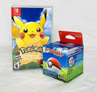 Pokeball Plus and Let's go Pikachu! Bundle - Brand New Sealed - Pokemon Nintendo