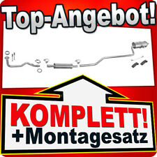 Auspuff TOYOTA COROLLA (E11) 1.3/1.4 86PS Liftback Stufenheck Kombi +Rohr K45