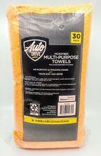 "Microfiber Multipurpose 3 Color Towels - 30 Pack  Auto Drive 14"" X 14"" Brand New"