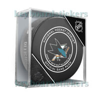 San Jose Sharks Home of 2019 All Star Game Official NHL Hockey Puck w/Cube - NEW