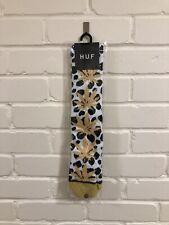 HUF Gold Plantlife Socks UK 8-12 BNWT