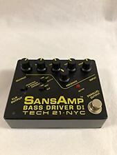 Amp Bass Driver DI 1 Switch Initial Type TECH 21 Guitar Effect Pedal no box