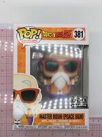 Funko Pop! #381 Dragon Ball Z Master Roshi Peace Sign FYE Exclusive P02
