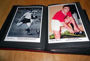 DUNCAN EDWARDS FOOTBALL PHOTO ALBUM (MANCHESTER UNITED / ENGLAND / BUSBY BABES))