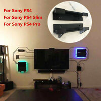 2PCS Wall Mount Bracket Holder Tool Para Sony Playstation 4 PS4 Slim Pro Console