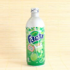 Japan FANTA MELON SODA 1 Full Aluminum Bottle Coca Cola Japanese Candy pop