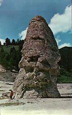 Liberty Cap Yellowstone National Park Wyoming Extinct Hot Spring Cone - Postcard