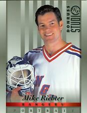 Mike Richter 1997-98 Donruss Studio '97 Portrait New York Rangers #33 NM 8x10