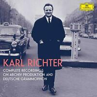Karl Richter - Karl Richter: Complete Recordings on Archiv Produktion [CD]