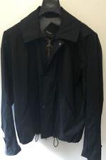 Cappotti e giacche da uomo nere in lana taglia M