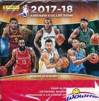 2017/18 Panini Basketball MASSIVE Factory Sealed 50 Pack Sticker Box-350 Sticker