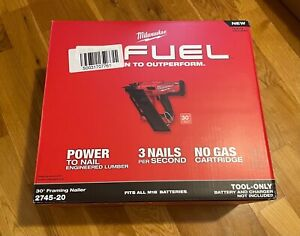 Milwaukee 2745-20 M18 FUEL 30 Degree Framing Nailer Tool Only (Bare Tool)
