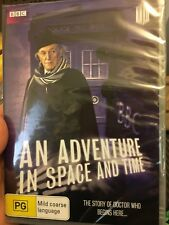 Dr Doctor Who An Adventure In Space And Time NEW/sealed region 4 DVD (sci-fi)