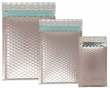 Nude Pink Metallic Bubble Mailers 8x12 6x10 4x8 Assorted Combo Shipping Pack
