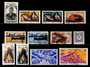 NEW CALEDONIA, FRANCE: 1940'S STAMP COLLECTION