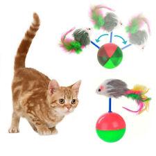 Katze Spielzeug Kreative rotierende Rod Maus Ball Cat Spielwaren
