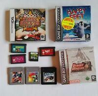 Lote juegos game boy, game boy advance gba y nintendo ds. 11 juegos