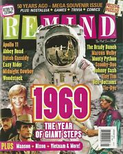 Remind Magazine January 2019 1969 The Year of Giant Steps Mega Souvenir Issue NM