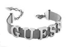 GUESS Mix & Mesh Bracelet L Armband Accessoire Silver Silber Neu