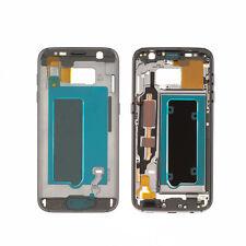 Mittelrahmen für Samsung Galaxy S7 G930F LCD Rahm Rahmen Gehäuse Cover Schwarz