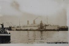 27413 Photo PC SS ORANIA KON. HOLL. LLOYD ship AK Schiff Holland um 1930