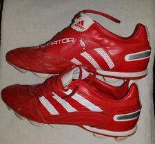 ADIDAS PREDATOR X FG football boots cleats RED  Like Beckham UK 12 MEN