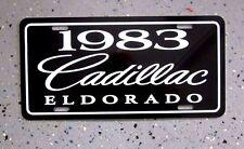 1973 Cadillac ELDORADO license plate car tag 73 Special Edition Caddy