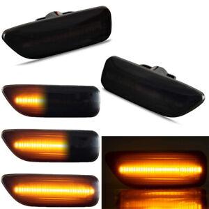 Dynamic LED Side Marker Blinker Signal Light For Volvo S60 S80 V70 XC70 XC90 MK1