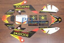 ROCKSTAR GRAPHICS DECAL & PLASTIC KIT CRF50 XR50 PIT BIKE P DE20+