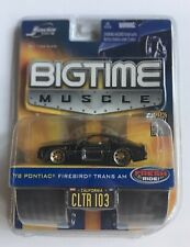 JADA BIG TIME MUSCLE 1978 1:64 PONTIAC FIREBIRD TRANS-AM BLACK DIE CAST METAL