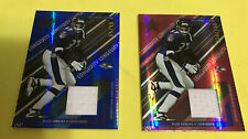 2004 Rookie Stars Deion Sanders   Jersey Materials Cards Sapphire And Ruby