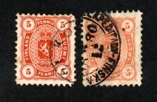 Finland - Sc# 18 & 18a Used / Lot 0221004