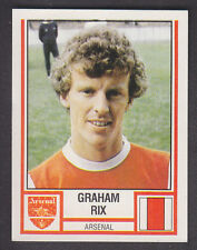 Panini - Football 81 - # 15 Graham Rix - Arsenal