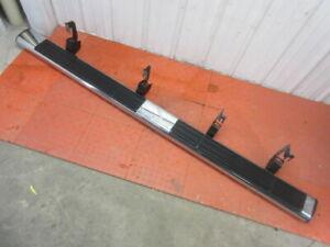 07 08 09 10 11 12 13 Silverado Sierra Crew Cab Left Running Board Nerf Bar Chrom