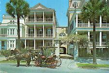 postcard   USA   Charleston South Battery Homes South Caroliner posted