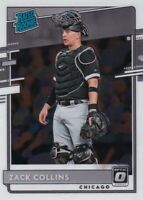 2020 OPTIC RATED ROOKIE RC ZACK COLLINS CHICAGO WHITE SOX BASEBALL B3818-3