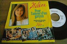 SP HELENE ROLLES Pour l'amour... Générique TV  Jeunesse TV 1992 JF PORRY EX EX